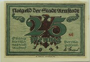 25 Pfennig (Arnstadt; Notables and Sights Series - Issue 4 - Rathaus) – obverse