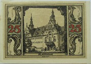 25 Pfennig (Arnstadt; Notables and Sights Series - Issue 4 - Rathaus) – reverse
