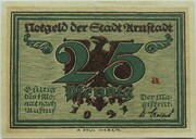 25 Pfennig (Arnstadt; Notables and Sights Series - Issue 5 - Marlitt) – obverse