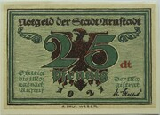 25 Pfennig (Arnstadt; Notables and Sights Series - Issue 6 - Schwarzburger Hof) – obverse