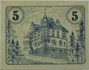 5 Pfennig (Auma) – reverse