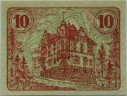 10 Pfennig (Auma) – reverse