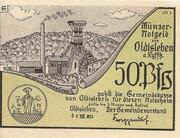 50 Pfennig (Oldisleben ) – obverse
