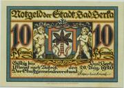 10 Pfennig (Bad Berka) – obverse