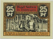 25 Pfennig (Bad Sulza; Spa Series - Issue B) – reverse