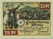 75 Pfennig (Bad Sulza; Spa Series - Issue E) – obverse