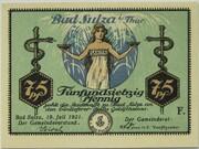 75 Pfennig (Bad Sulza; Spa Series - Issue F) – obverse