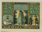 75 Pfennig (Bad Sulza; Spa Series - Issue F) – reverse