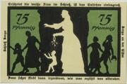 75 Pfennig (Berga an der Elster; Silhouette Series) – reverse