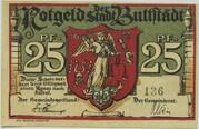 25 Pfennig (Buttstädt) – obverse