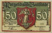50 Pfennig (Buttstädt) – obverse