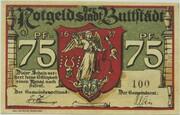 75 Pfennig (Buttstädt) – obverse