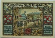 50 Pfennig (Eisfeld) -  obverse