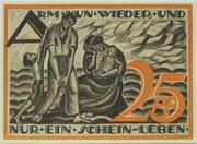 25 Pfennig (Gera) – reverse