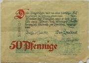 50 Pfennig (Gotha) -  obverse