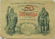 50 Pfennig (Gotha) -  reverse