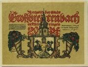 20 Pfennig (Großbreitenbach) – obverse