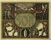 50 Pfennig (Großbreitenbach; Industry Series - Glasindustrie) -  reverse