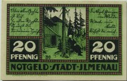 20 Pfennig (Ilmenau; green issue) – obverse