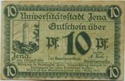 10 Pfennig (Jena) – obverse