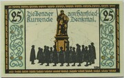 25 Pfennig (Jena) – reverse