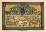 75 Pfennig (Pößneck) – obverse
