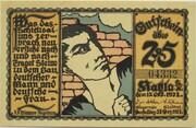 25 Pfennig (Kahla; Economics Series - C) – obverse