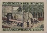 25 Pfennig (Langewiesen) – reverse