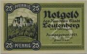 25 Pfennig (Leutenberg) – obverse