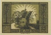 25 Pfennig (Lobeda) – obverse