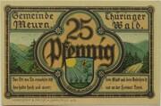 25 Pfennig (Meura) – obverse