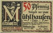 50 Pfennig (Mühlhausen in Thüringen; Archive Series - Issue 4: Bach) -  obverse