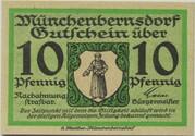 10 Pfennig (Münchenbernsdorf) – obverse