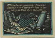25 Pfennig (Münchenbernsdorf) – reverse