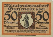 50 Pfennig (Münchenbernsdorf) – obverse
