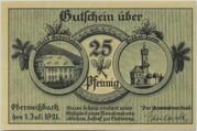25 Pfennig (Oberweißbach) – obverse