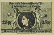 25 Pfennig (Oberweißbach) – reverse