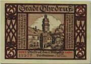 25 Pfennig (Ohrdruf) – reverse