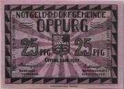 25 Pfennig (Oppurg) – obverse