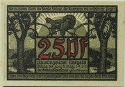 25 Pfennig (Paulinzella) – obverse