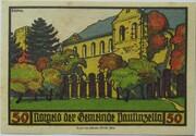 50 Pfennig (Paulinzella; Monastery Series - Issue 1) – reverse