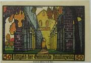 50 Pfennig (Paulinzella; Monastery Series - Issue 4) – reverse