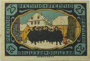 25 Pfennig (Pößneck) – reverse