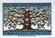 50 Pfennig (Schwarzburg) – reverse