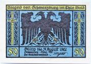 50 Pfennig (Schwarzburg; Humboldt Series - Issue 3) – obverse
