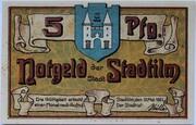 5 Pfennig (Stadtilm) – obverse