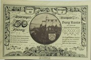 50 Pfennig (Kahla; Leuchtenburg - Issue 3F: Burg Ranis) -  reverse