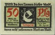 50 Pfennig (Treffurt) -  obverse