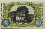 50 Pfennig (Treffurt) -  reverse