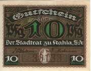 10 Pfennig (Kahla) – obverse
